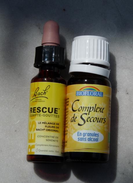 Naturopathie Fleurs de Bach - Rescue - Remède d'urgence