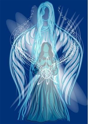 Soin énergétique vibratoire énergie Angéline distance ange protection transformation ailes Flavie Dode Naturopathie Réflexologies Bien-être