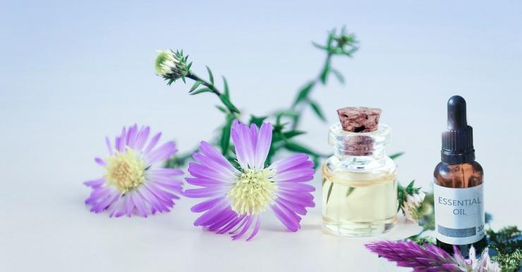 Flacon HE Huiles Essentielles Synergie Aromathérapie Flavie Dode Naturopathie Réflexologies Bien-être