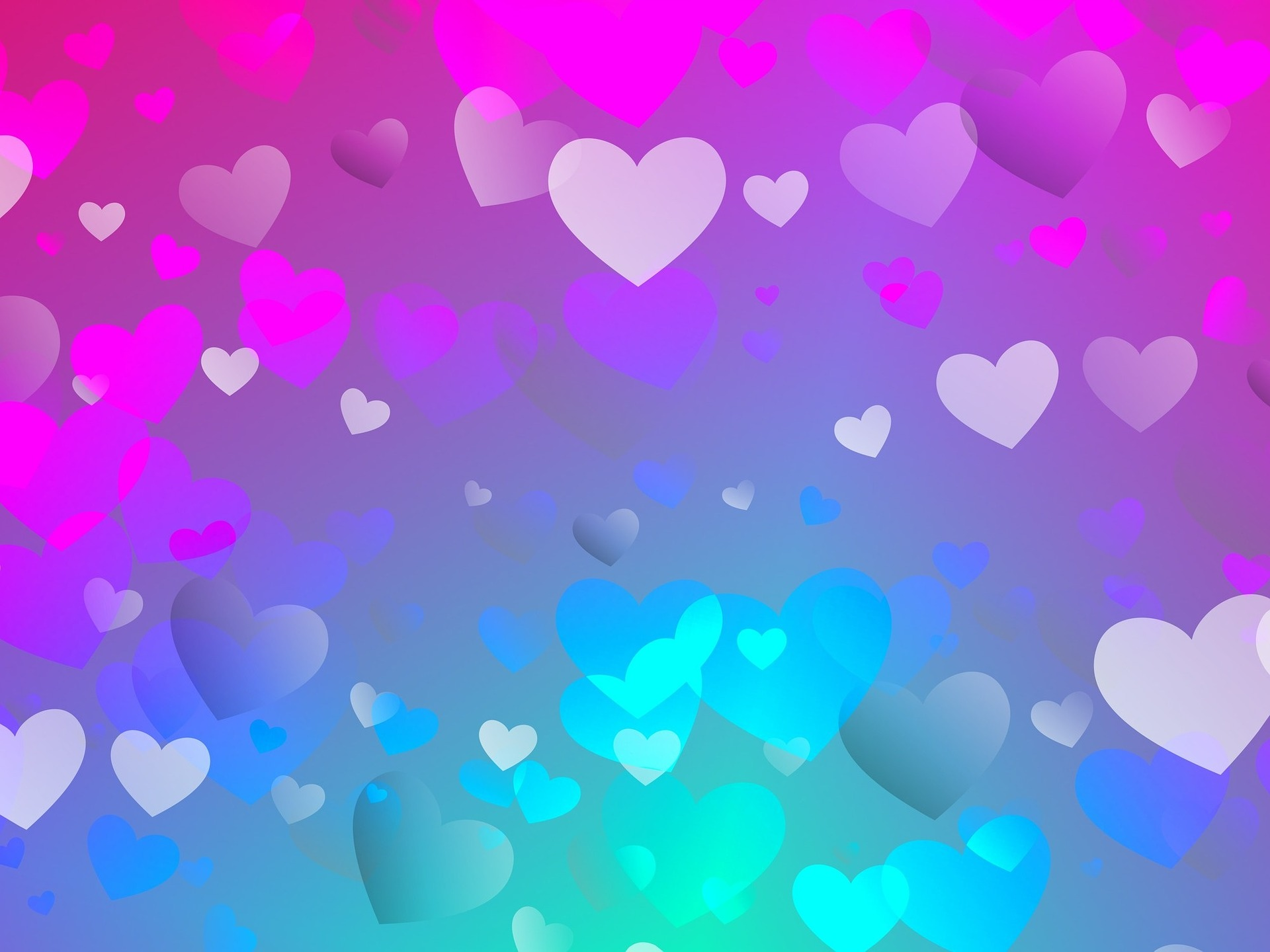 Flavie Dode énergie douce coeur amour rose bleu violet