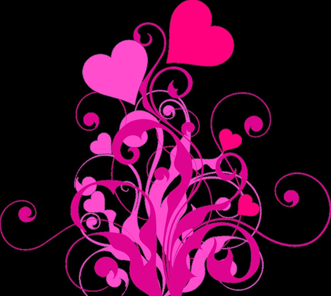 Flavie Dode énergie douce coeur amour rose violet semer les graines grandir