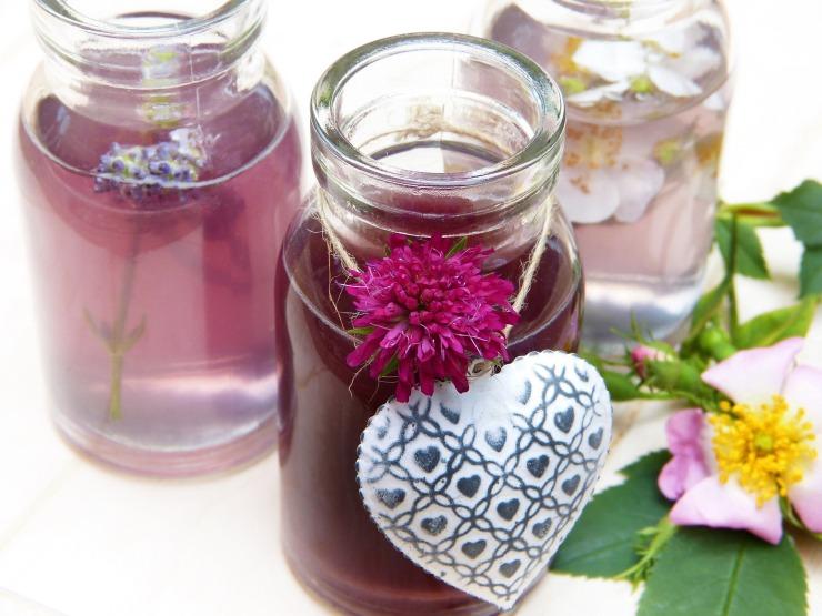 Voyage aromatique pause olfactive bien-être massage mas-sage détente olfactothérapie lavande flacon