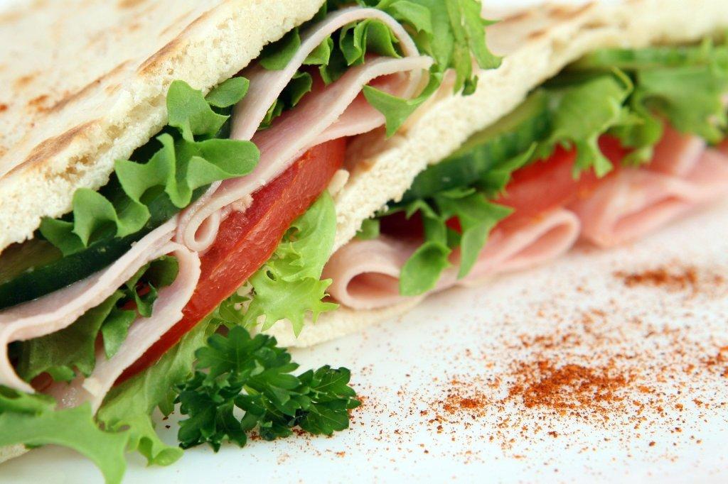 repas alimentation sandwich